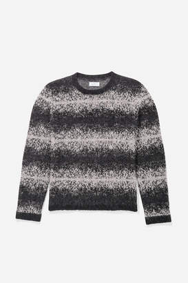 Saturdays NYC Wade Ombre Stripe Sweater