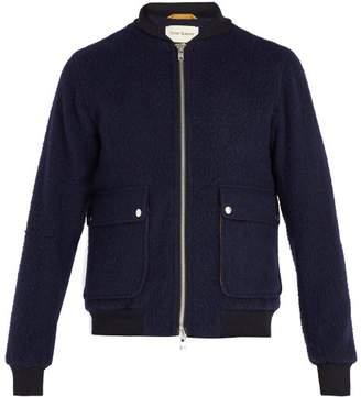 Oliver Spencer Bermondsey Wool Bomber Jacket - Mens - Navy