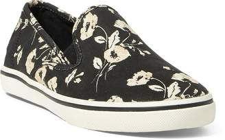 Ralph Lauren Janis Floral Slip-On Sneaker