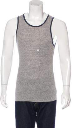 Band Of Outsiders Woven Sleeveless Tank Top