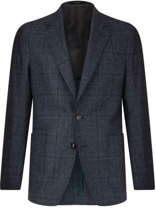 Paul Smith Soho Fit Large Checked Jacket