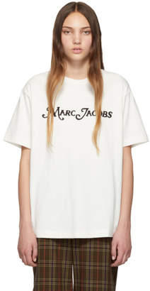 Marc Jacobs (マーク ジェイコブス) - Marc Jacobs New York Magazine Edition オフホワイト The Logo T シャツ