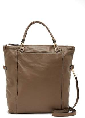 Vince Camuto Patch Leather Shoulder Bag Tote