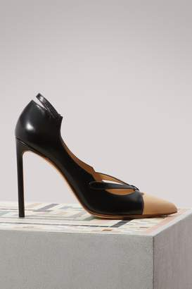 Francesco Russo Cut pumps