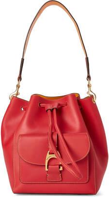 Dooney & Bourke Geranium Emerson Marlowe Drawstring Shoulder Bag