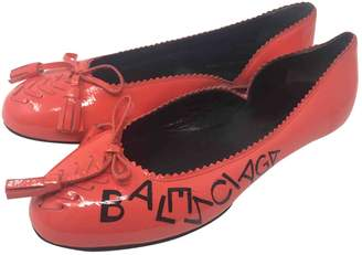 Balenciaga Other Patent leather Ballet flats