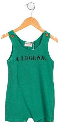 Bobo Choses Boys' Sleeveless 'A Legend' Overalls w/ Tags