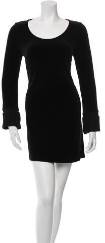 Sonia Rykiel Velvet Shift Dress