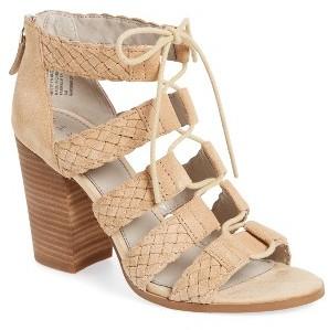 Women's Hinge Desi Block Heel Sandal $89.95 thestylecure.com