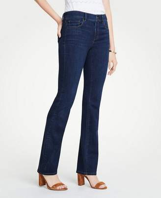 Ann Taylor Petite Curvy Denim Boot Cut Jeans