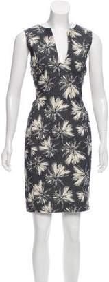 L'Agence Sleeveless Knee-Length Dress