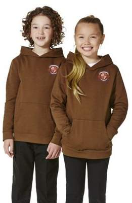 F&F Unisex Embroidered School Hoodie With As New Technology XS