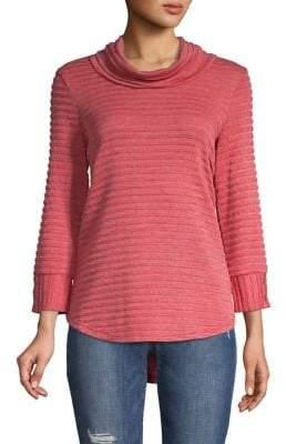 Jones New York Cowlneck Cocoon Sweater