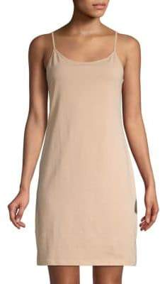 Saks Fifth Avenue Stretch Cotton Slip Camisole