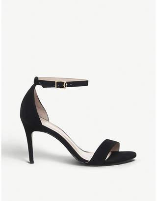 Office Mimosa mid-heel nubuck leather sandals