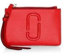 Marc Jacobs Women's Top Zip Multi Wallet - Poppy Red