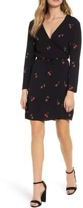 Rails Cherry Wrap Dress