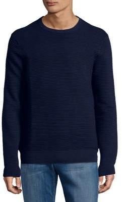 Black & Brown Black Brown Ribbed Long-Sleeve Sweater