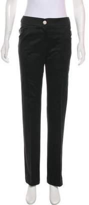 Matthew Williamson Mid-Rise Wide-Leg Pants