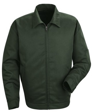 Red Kap Men's Slash Pocket Jacket