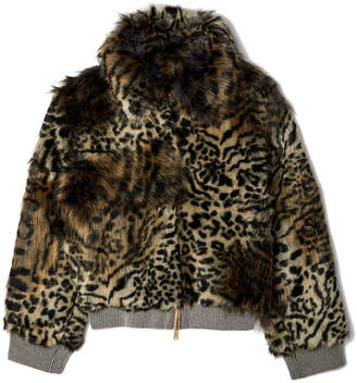 Stella McCartney Laurel Faux Fur Jacket