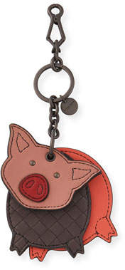 Bottega Veneta Leather Pig Key Chain