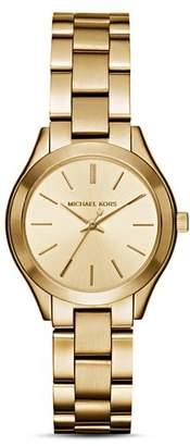 Michael Kors Mini Slim Runway Watch, 33mm