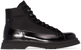 Prada lace-up ankle boots