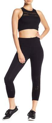 Bebe Cage Capri Leggings