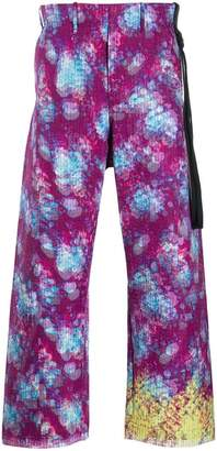 Craig Green stitch detail trousers