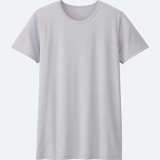 Uniqlo Men's Airism Crew Neck Short-sleeve T-Shirt