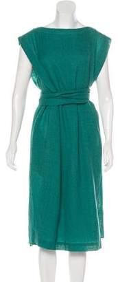 Tibi Wool Belted Dress w/ Tags