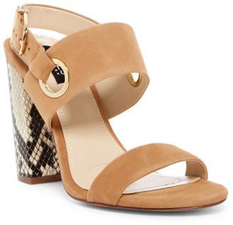 Jones New York Jayla Sandal $119 thestylecure.com