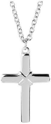 West Coast Jewelry Stainless Steel Cross Necklace