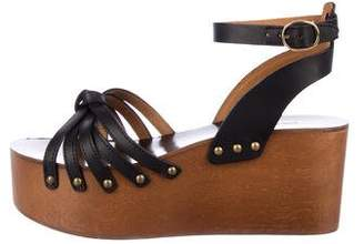 Etoile Isabel Marant Platform Leather Sandals