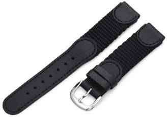 Victorinox Hadley-Roma Men's MSM866RA 160 16-mm 'Swiss-Army' Style Nylon and Leather Watch Strap