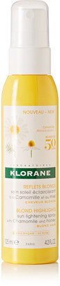 Klorane - Sun Lightening Spray With Chamomile And Honey, 125ml - one size $18 thestylecure.com