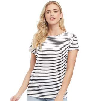 6066433acccba3 Nocozo Womens Striped Watermelon T-Shirt With Tie Back Detail White/Black