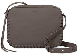 AllSaints Leather Kepi Mini Crossbody Bag