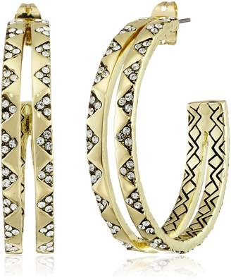 House Of Harlow Outland Split Hoop Earrings