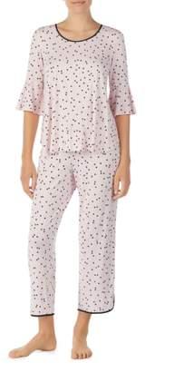 Kate Spade Bell Cuff Pajamas