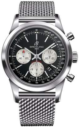 Breitling Transocean Automatic Chronograph Watch 43mm