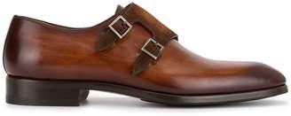 Magnanni double buckle shoes