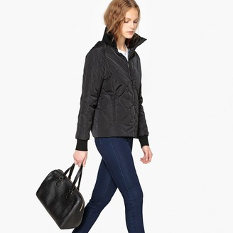 La Redoute COLLECTIONS Lightweight Padded Jacket with Knitted High Neck
