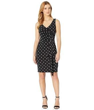 Lauren Ralph Lauren H7P Driver Dot Leamon Sleeveless Day Dress