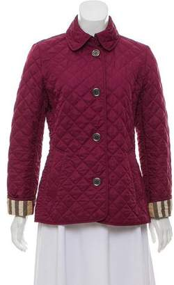 Burberry Tailored Quilted Jacket