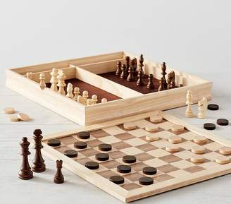Pottery Barn Kids Family Game, Chess & Checkers Set