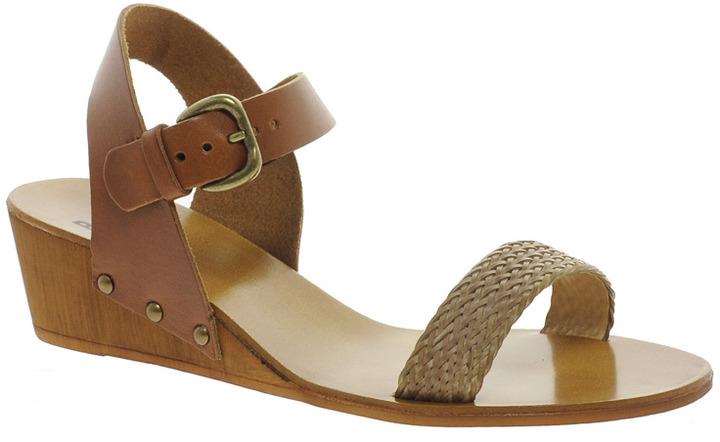 Bertie Geney Low Wedge Sandals