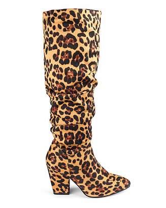 cb26803daa Jd Williams Soft Ruched Boots E Fit Standard Calf