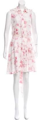 Band Of Outsiders Linen Mini Dress w/ Tags White Linen Mini Dress w/ Tags